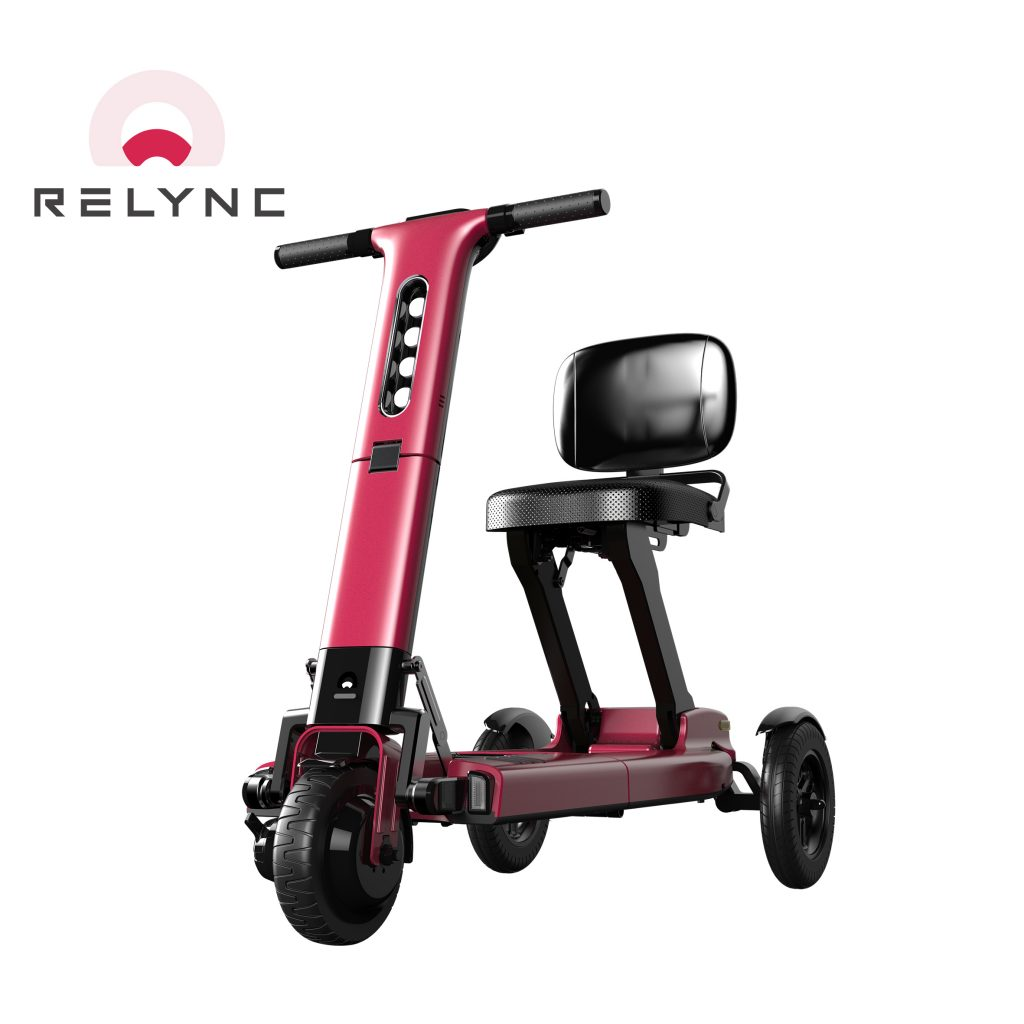 R1 Mobility Scooter in Red