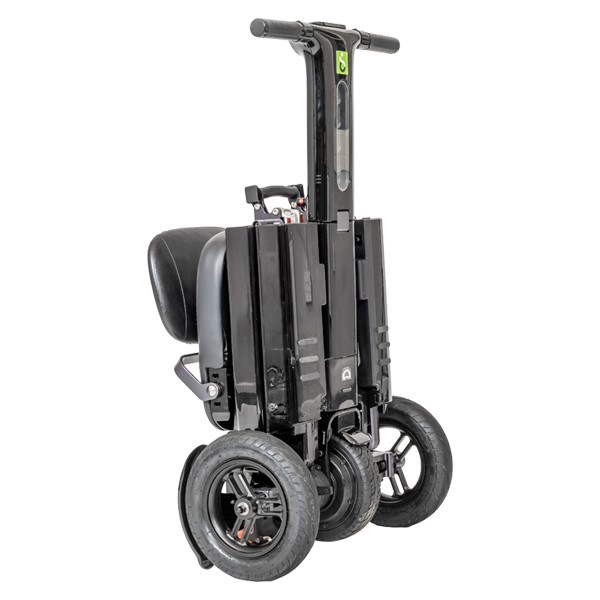 R1 Mobility Scooter folded with handle
